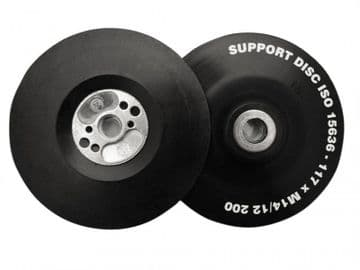 Angle Grinder Pad ISO Soft Flexible 115mm (4.5in) M14